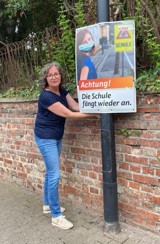 Andrea Kempe, die Vorsitzende des CDU Kreisverbandes Salzgitter